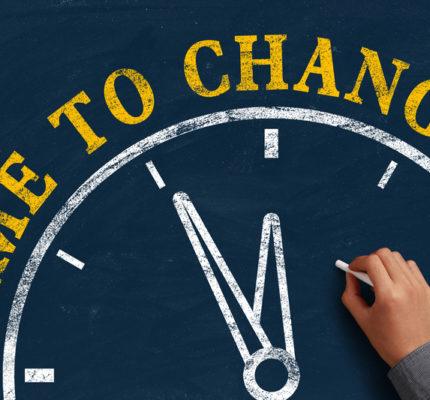Je čas na změnu